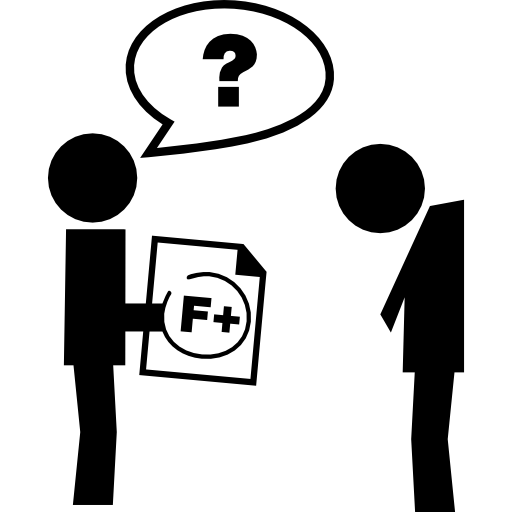 Teacher Asking A Student About Bad Test Result Icons Free Download
