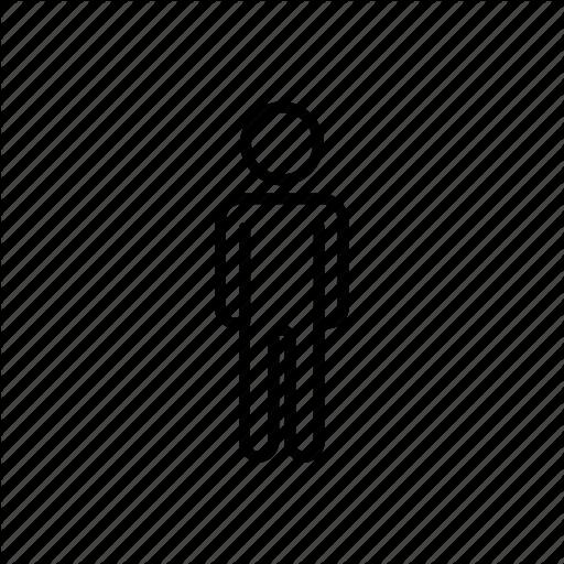 Male, Man, Toilet Icon