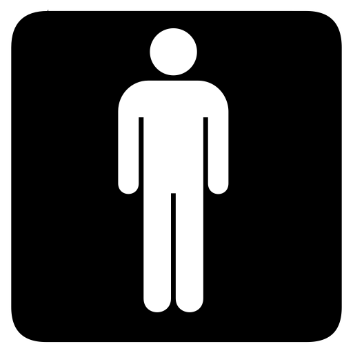 Mens, Male, Men, Room, Toilet Icon