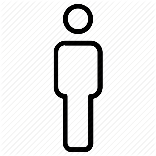 Bathroom, Male, People, Sign, Toilet Icon