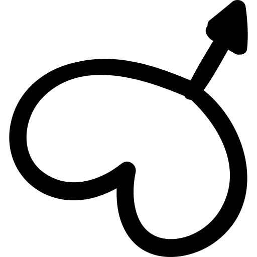 Male Gender Symbol With A Heart Png Icon