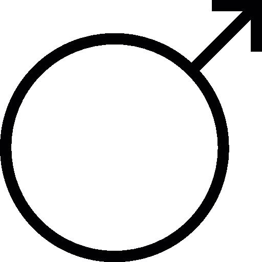 Male Gender Symbol Icons Free Download