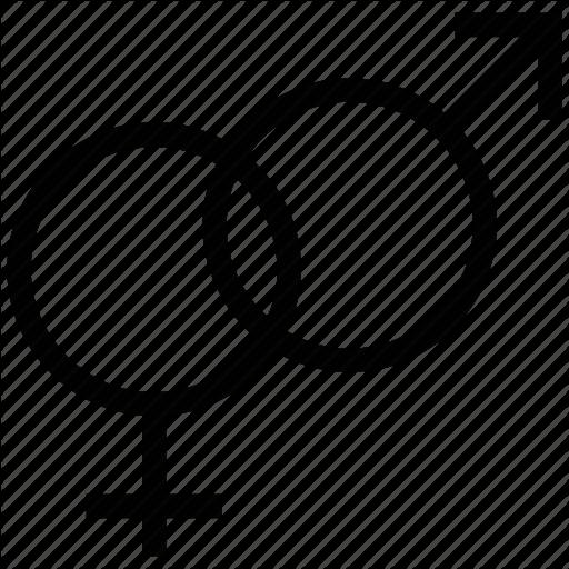 Female Gender, Gender, Gender Sign, Male And Female Gender, Male
