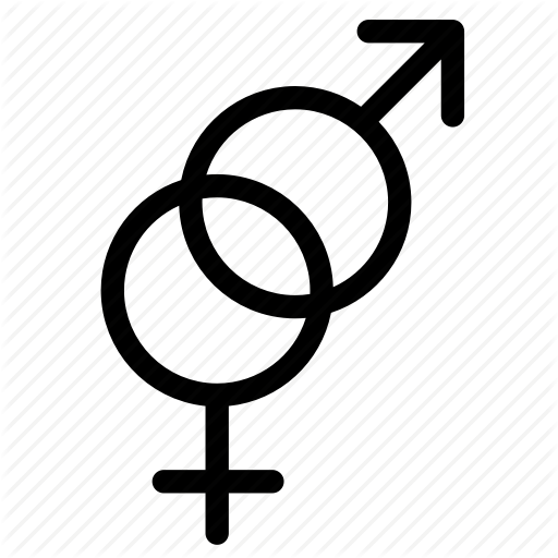 Gender, Gender Symbol, Male And Female, Malefemale, Sex, Toilet Icon