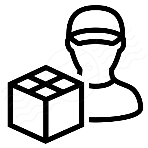 Iconexperience I Collection Delivery Man Icon