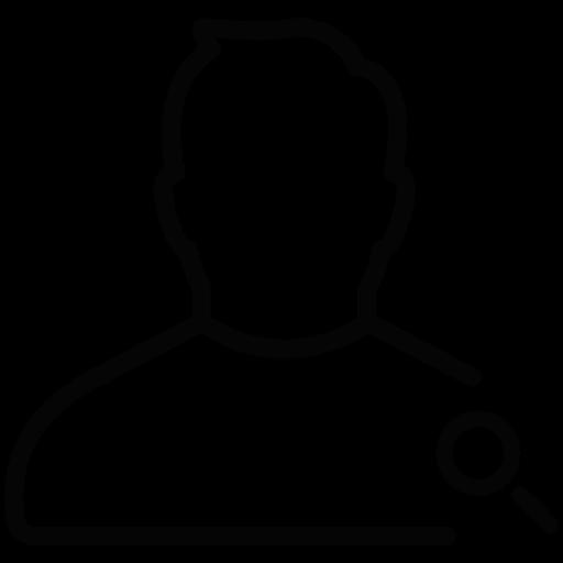Download Checkuser Search,male,man,man Icon Inventicons