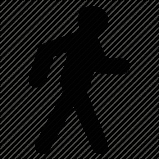 Man, Person, Running, Sports, Walking, Walking Man Icon