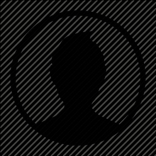 Avatar, Circle, Dark, Man, People, Profile, User Icon
