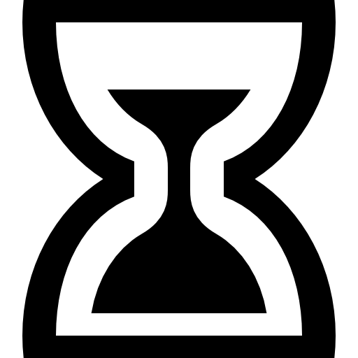 Hourglass Measuring Time Using Sand Icons Free Download