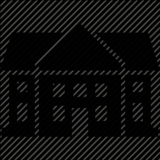 Dwelling, House, Mansion, Villa Icon