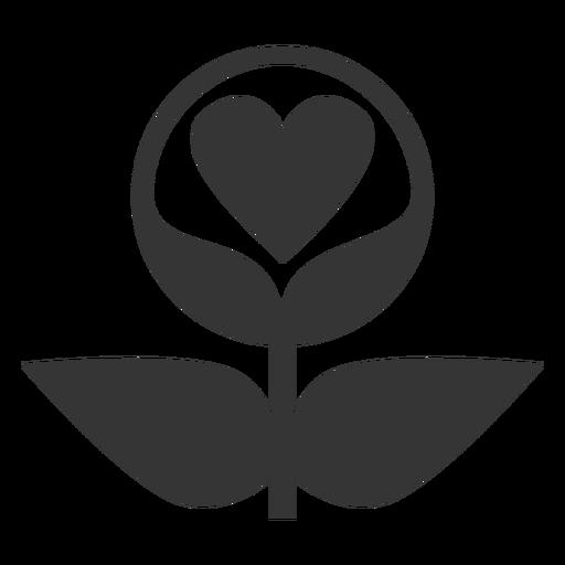 Plant Love Line Style Icon