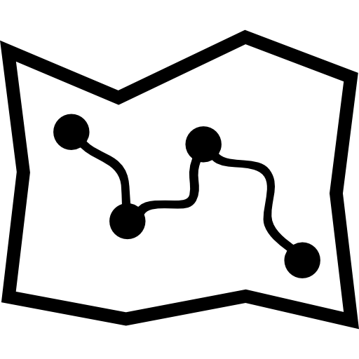 Map Route Icons Free Download