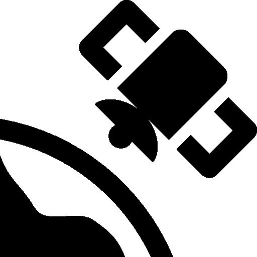 Maps Satellite In Orbit Icon Windows Iconset