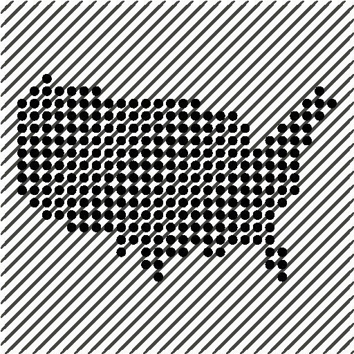 United States Map Icons Noun Project United States Map Icon