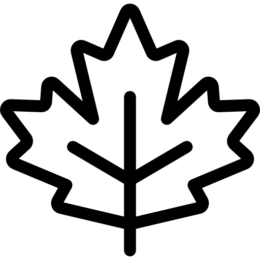 Maple Leaf, Botanical, Plant, Leaf, Nature, Garden Icon