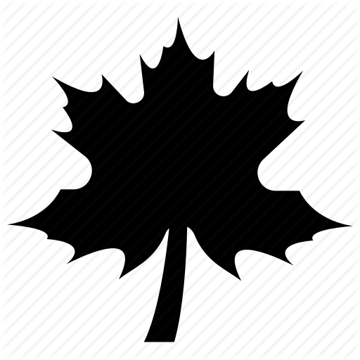 Cornered Leaf, Leaf, Leaf Design, Leaf Shape, Maple Leaf Icon