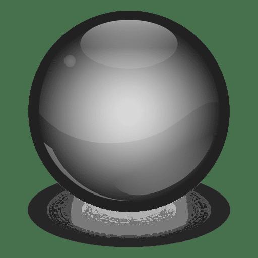 Black Marble Ball