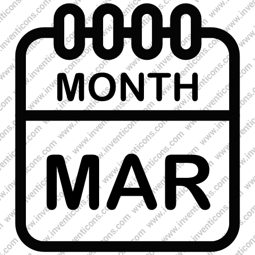 Download Calendar,date,day,event,history,month,year,mar,march Icon