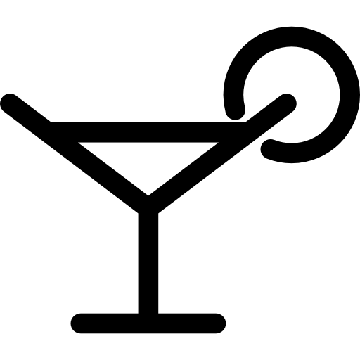 Margarita Glass Drink Icons Free Download