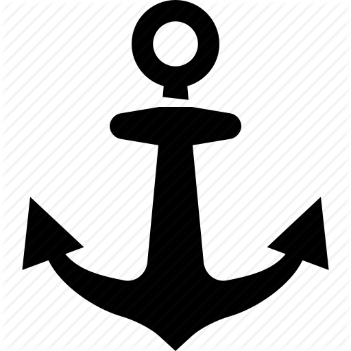 Anchor, Marine Icon
