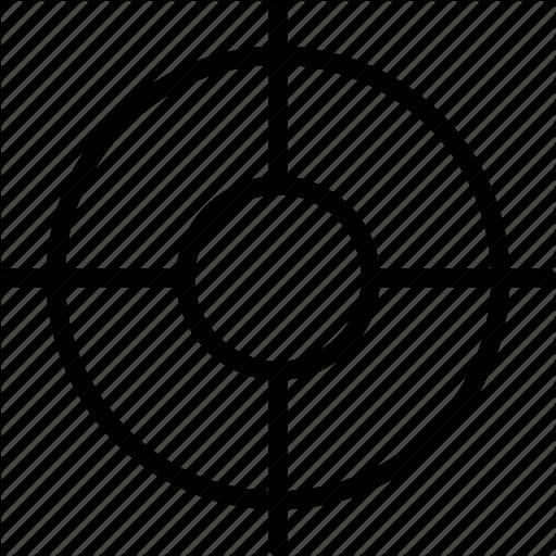 Circle, Cross, Double, Mark, Plus, Target Icon