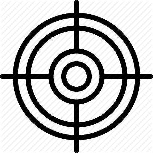 Circle, Double, Mark, Target Icon