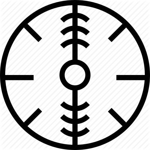 Circle, Mark, Target, Verticle Icon