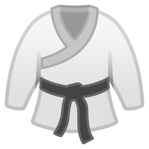 Martial Arts Uniform Icon Noto Emoji Activities Iconset Google