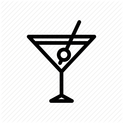 Beverage, Cocktail, Glass, Martini, Nightlife, Party, Wine Icon