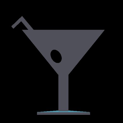 Drink, Cocktail, Shot, Disco, Martini Icon