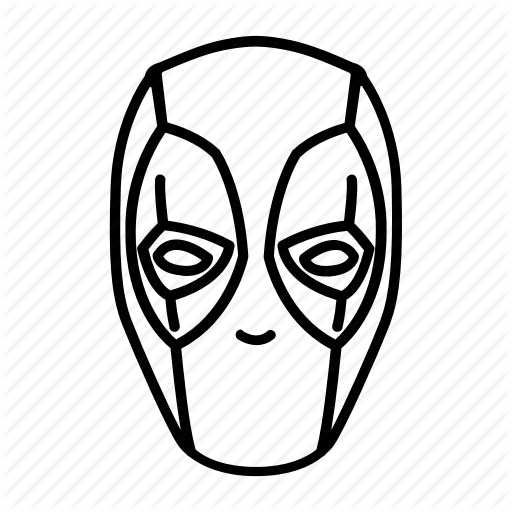 Deadpool, Face, Hero, Marvel, Mask, Mutant, Superhero Icon
