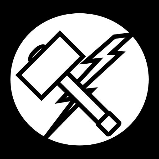 Thor, Hammer, Avangers, Marvel Icon