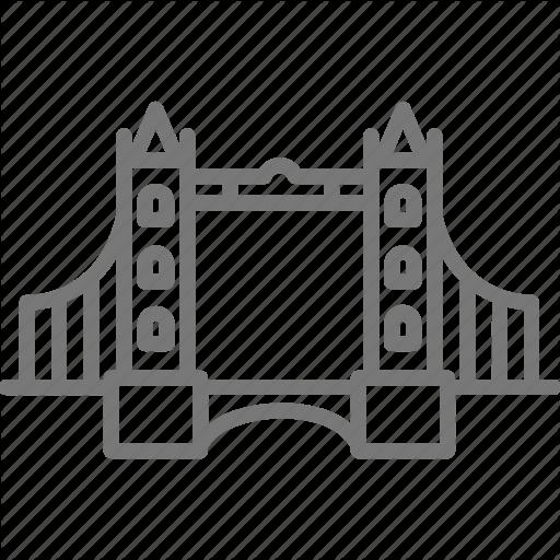Bascule, Bridge, Draw, London, Suspension, Tower Icon