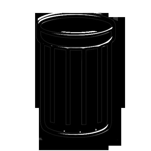 Remove, Rubbish Basket, Trash Can, Trashcan Icon