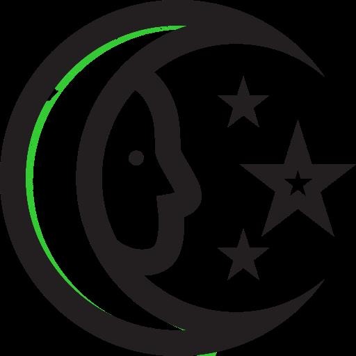 Moon, Stars, Ufo Icon Free Of Super Secret Vol One