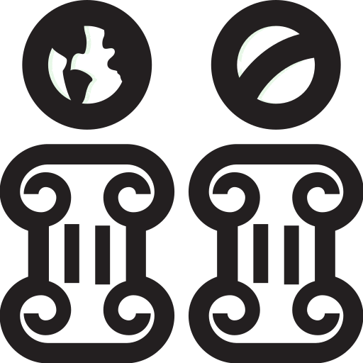 Masonic, Pillars, Ufo Icon Free Of Super Secret Vol One