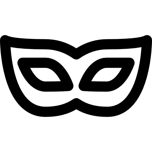 Masquerade, Party, Celebration, Signs, Costume, Mystery Icon