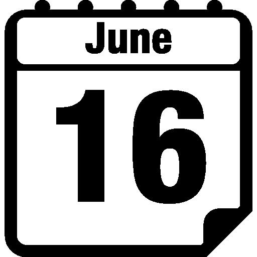June Daily Calendar