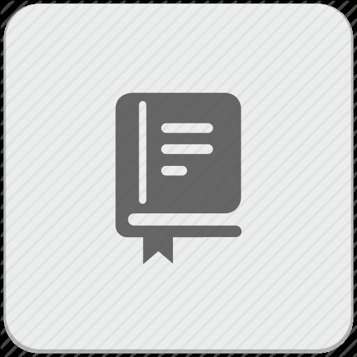 Bible, Book, Bookmark, Catalog, Design, Material Icon