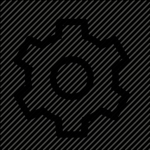 Cog, Gear, Settings Icon
