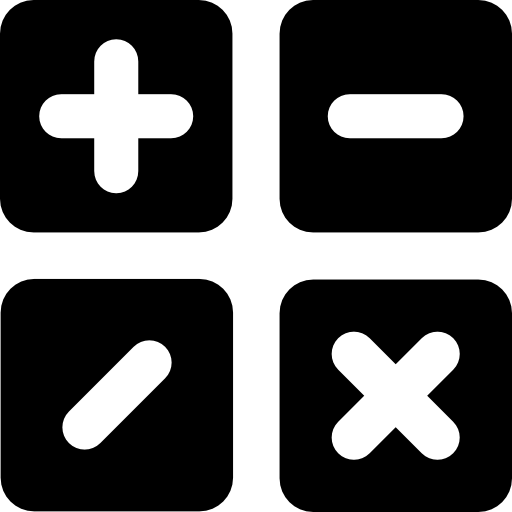 Mathematical Operations Icons Free Download
