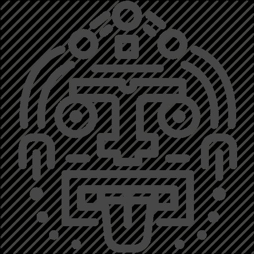 Ancient, Aztec, Maya, Mayan, Sculpture, Tribe Icon
