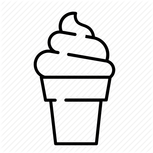 Cone, Cream, Ice Cream, Mcdonalds, Summer, Summer Sweets, Sweet Icon