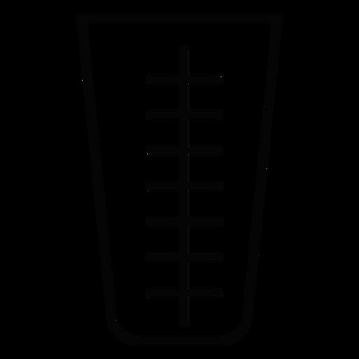 Measuring Cup Stroke Icon