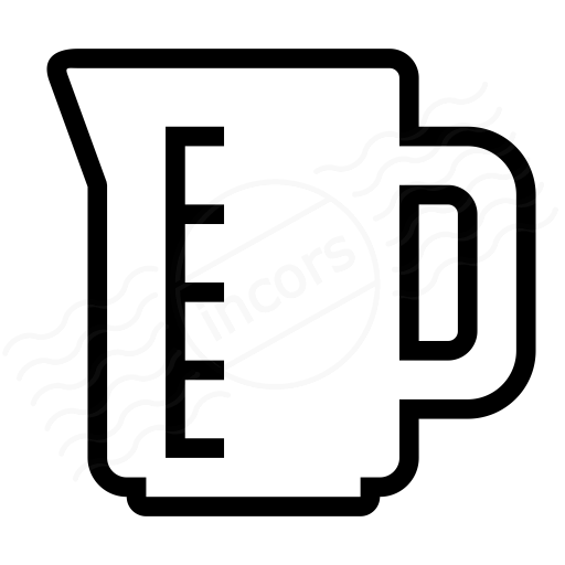 Iconexperience I Collection Measuring Cup Icon