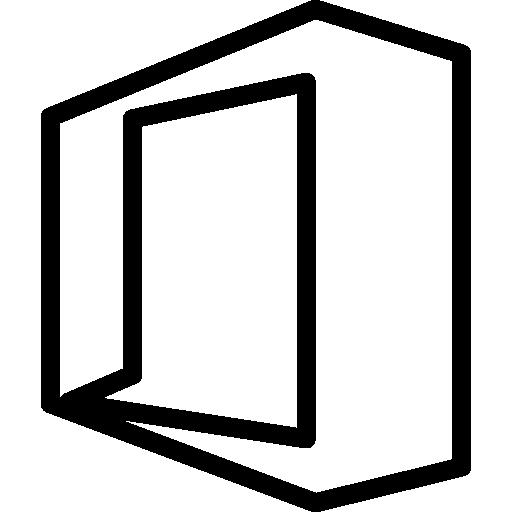 Social Media Office Flat Icon