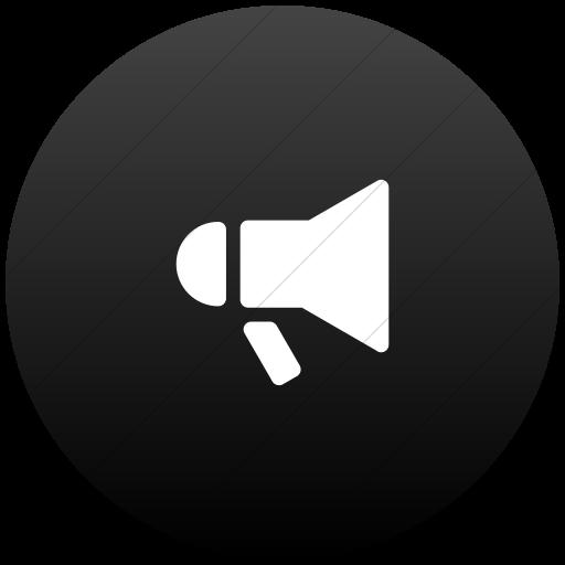 Megaphone Flat Icon