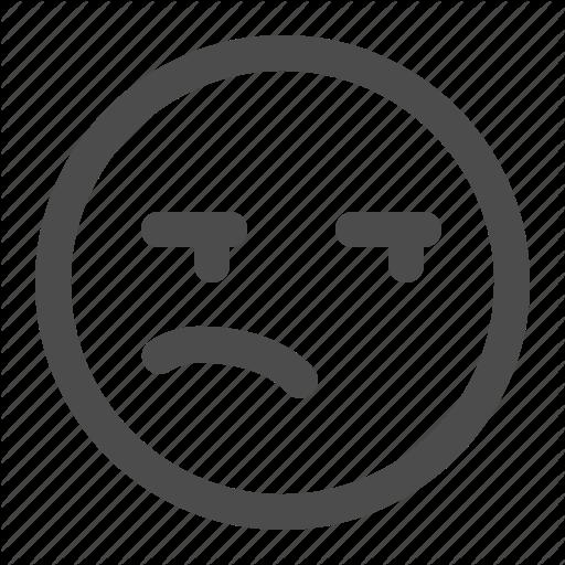 Emoji, Emoticon, Meh, Unimpressed Icon