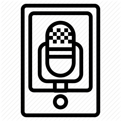 Audio Recording, Memo Icon