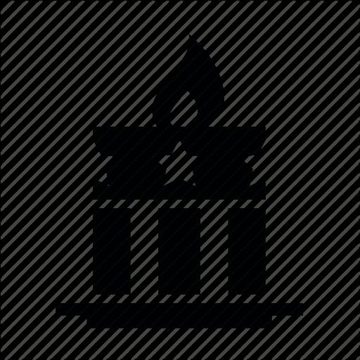 Memorial, Amerika, Vechnyj Ogon, Pamiatnik, Svecha Icon